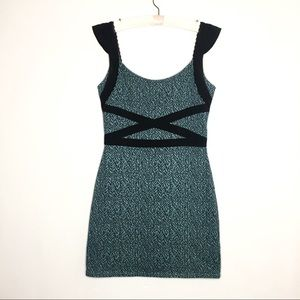 Free people mini dress with back details size S